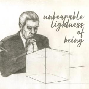 Unbearable Lightness Of Being Label