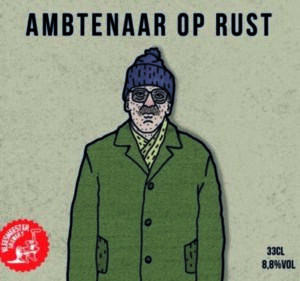 Ambtenaar Op Rust Label